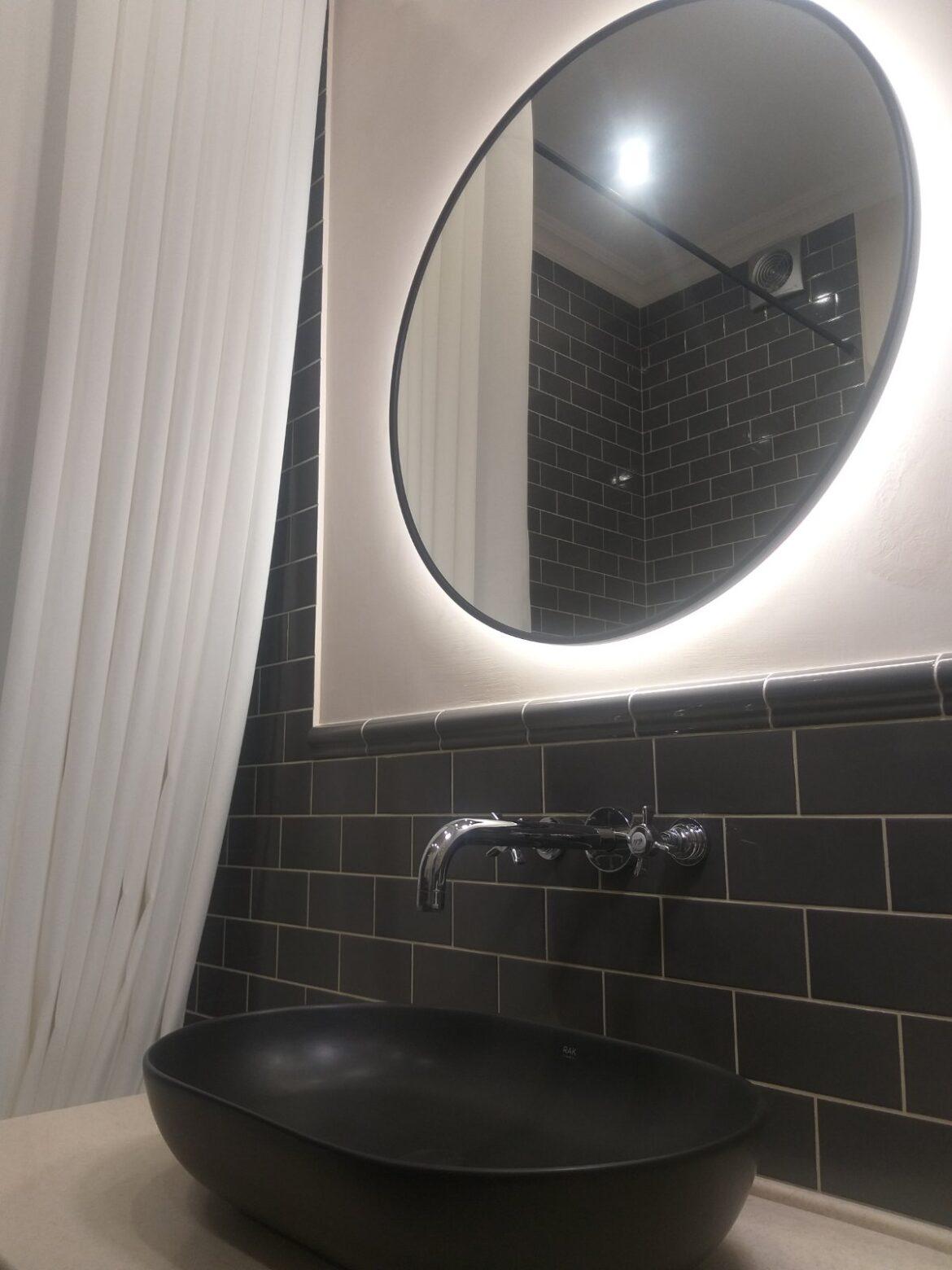 Декоративная штукатурка — Идея для ванной Concret Art