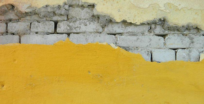 Структурная штукатурка - как самостоятельно нанести структурную штукатурку на стену?