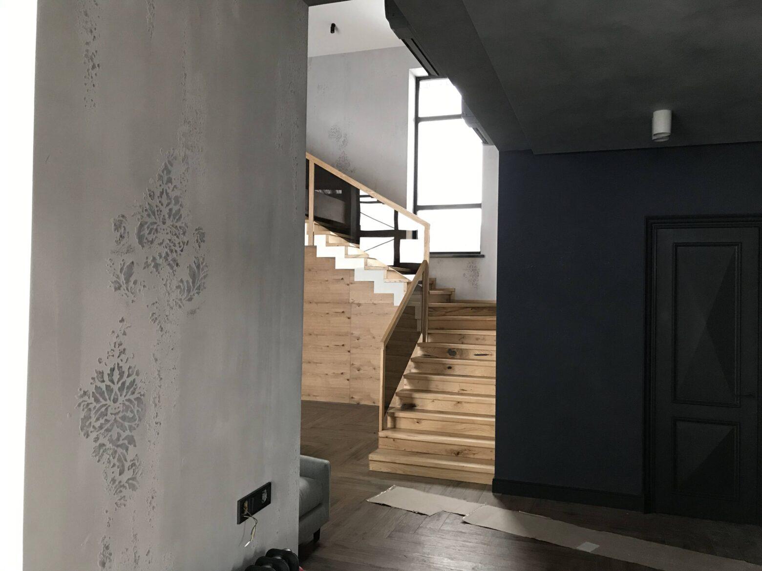 Эффект Бетона Concret Art+Трафарет