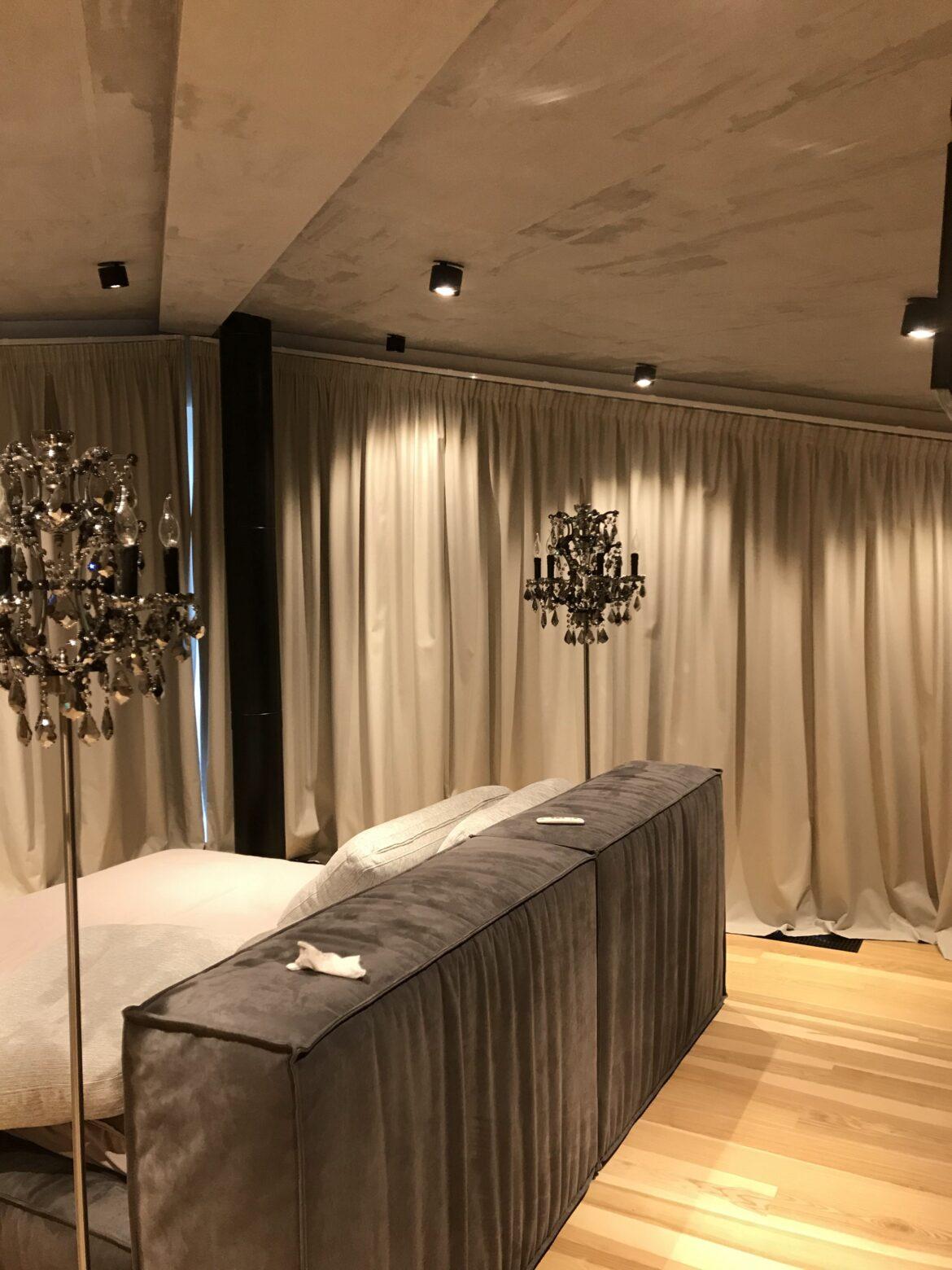Декоративная штукатурка — Потолок